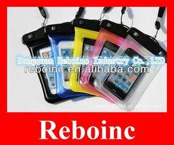 waterproof pvc cellphone packing bag D-W030