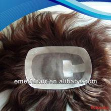 Whosale black men lace front wigs,natural hair wig for men