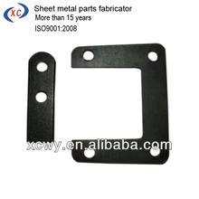 Black steel sheet metal