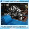 Venda Pelton roda Turbine100 Kw / pequeno Pelton gerador de 100 Kw