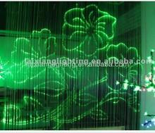 PMMA Fiber Optic Curtain , changeable color plastic optic lighting wall plastic optical fiber