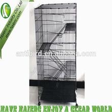 4 Levels Folding Metal Indoor Cat Cages,Rabbit Cages, Ferret Cages CT-52