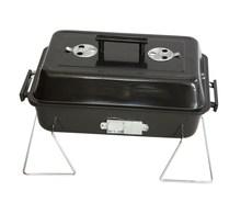 black painting BBQ charcoal grill