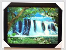 High resolution lenticular paper 3d landscape poster