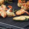 Non-stick BBQ Grilling Mesh Sheet PFOA-free PTFE coated fiberglass