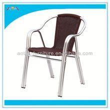 Outdoor perfect material blue rattan garden chair