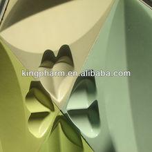 Jessica: Plant paper 3D wall panel, 3D Wallpaper