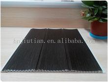 PVC laminated wall panel (Dark) building material pvc sheets black decorative wall panel