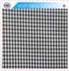100% Cotton Blue White Check Shirt Fabric