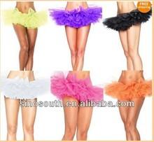 5layer dance sexy mini xl ladies adult tutu skirts