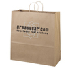 "Brown Kraft Promotional Shopping Bag - 18""w x 18.75""h x 7""d"