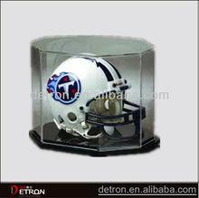 Pop design clear acrylic helmet display stand