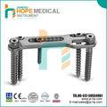 Implants en titane épinière vertèbre thoracique antérieure/rachis lombaire plaque