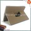 detachable leather case for ipad air,standing and rotating