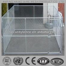 Export standard chain link metal dog run