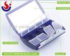 mirror pill box