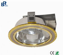 Newly developed iron 2*E27/PLC 4/6/8 inch down light /Spot light