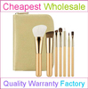 China Factory High Quality Synthetic 7pcs Cosmetic Brush Kit with Custom Design and Logo Cosmetic Brush Kit