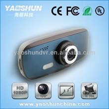 Support Built-in G-sensor 2.7 TFT Seamless Loop Recording Full HD 1080p Night Vision Car Camera (LR-T650)