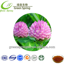 Natural Red Clover Extract 8%~40% Isoflavones,China herb medicine,free sample