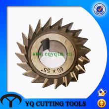 HSS single angle milling cutter