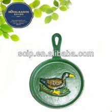 color painted decoration pan