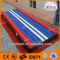 Durable en14960 0.55mm inflable del pvc colchonetas de gimnasia