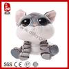 China wholesale big eyes plush toy stuffed cat toys
