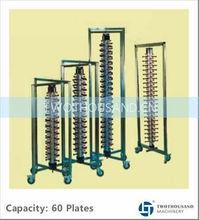 TT-BU126, 60 Plates, Vertical Type,Dish Rack, Kitchen Stainless Steel Dish Rack