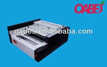 OABES brand high speed paper glue binding machine with 120-140book/hour