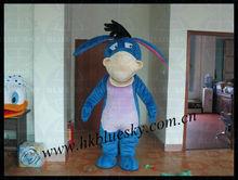 character eeyore mascot costume