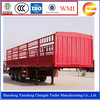 3 Axles 40Ton enclosed cargo box semi trailer for sale
