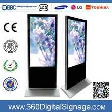 42inch Samsung TFT LCD panel Upright Interior application pos led advertising display