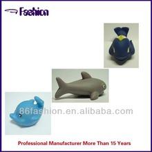 custom cartoon floating toy fish character