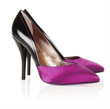 Elegant Purple High Heels Ladies Shoes Women Fashion mature sexy high heel dress shoes lady party wear high heel pumps shoes