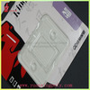 clear plastic micro sd card blister packaging
