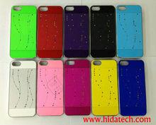 Luxury Color Diamond Full Star Cover Case For iPhone 5,For Apple iPhone5 5G Full stars Design