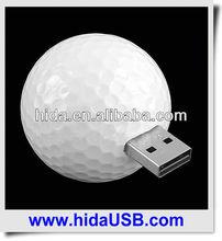 Custom logo golf USB sticks High quality premium golf pen drive