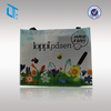100gsm promotional pp non woven shopping bag with full color printed