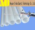 M leitoso tubo de quartzo usado como microondas peças
