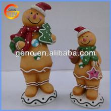 Likable Resin Mini Snowman Crafts