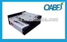 A4 glue book binding machine automatic high quality oabes brand hot glue binding machine