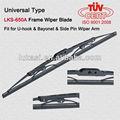 Comprimento wiper blades fit caminhão wiper arm universal spoiler para carros