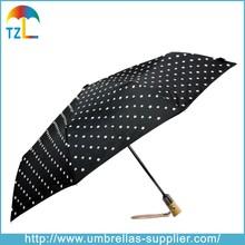 Fantastic Fashion Change Color When Wet 3 Folding Magic Umbrella