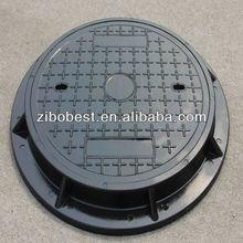 C250 SMC 600mm standard polymer manhole covers sizes