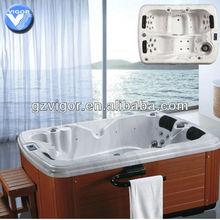 whirlpool outdoor wooden bathtub