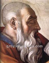 Impressionist Michelangelo art Picture Famous Portrait Oil Canvas Paintings