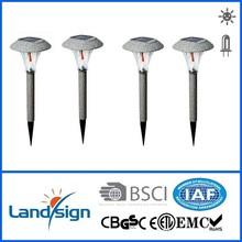 solar lawn lamp, landsign, Item number: XLTD-317S, Copper finished, 1*white led, no switch,