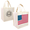 Patriotic Nonwoven Shopping Tote Bags