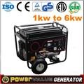 imitativa 3kw hyundai generador de la gasolina con largo tiempo de ejecución de la garantía